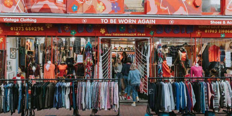 Bisnis thrift shop